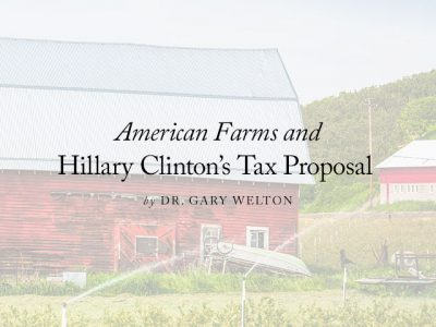 American Farms and Hillary Clinton's Tax Proposal