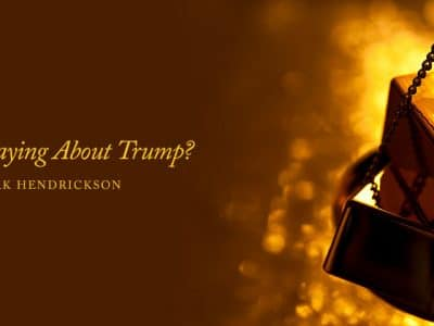What Is Gold Saying About Trump?