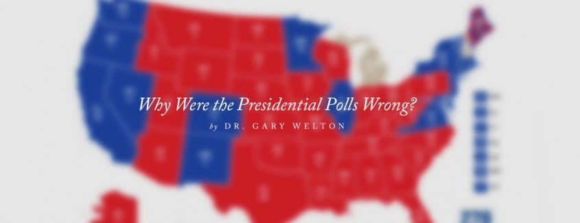 , Why Were the Presidential Polls Wrong?