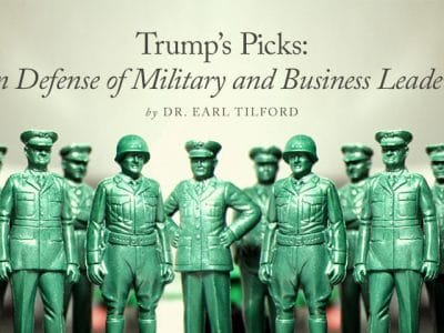 Trump's Picks: In Defense of Military and Business Leaders