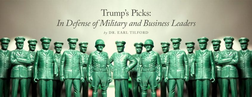 , Trump's Picks: In Defense of Military and Business Leaders