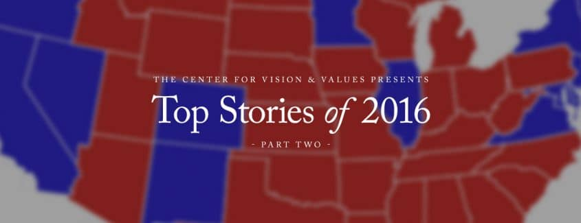 , The Center Presents: Top Stories of 2016 (Part Two)