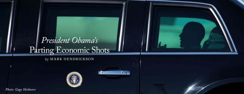 , President Obama's Parting Economic Shots