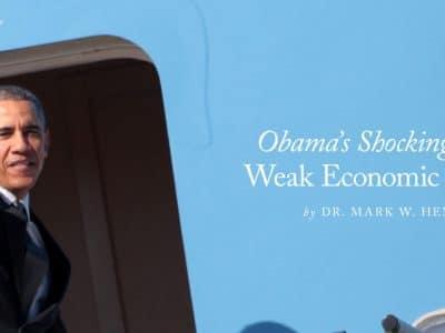 Obama's Shocking Historically Weak Economic Performance
