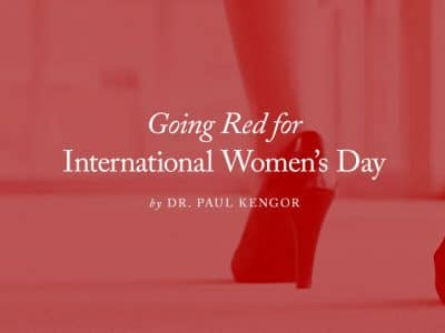 Going Red for International Women's Day