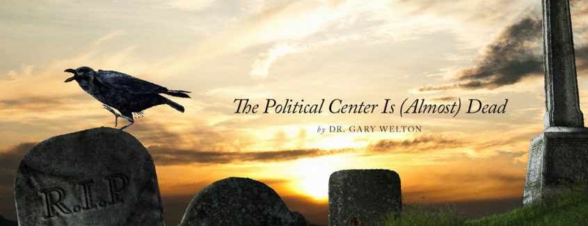 , The Political Center Is (Almost) Dead