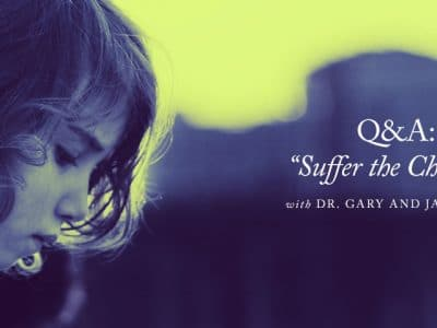 """Suffer the Children"" — A Q&A with Dr. Gary and Jane Smith"