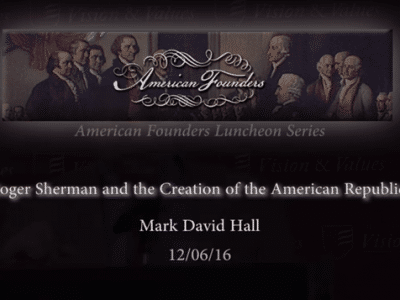 , STREAMING VIDEO — 2012 – Sir William Blackstone and the American Republic
