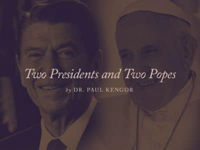 Two Presidents and Two Popes