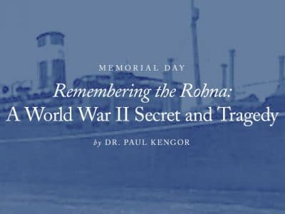 Remembering the Rohna: A World War II Secret and Tragedy
