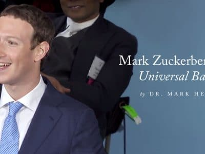 "Mark Zuckerberg's Call for a ""Universal Basic Income"""