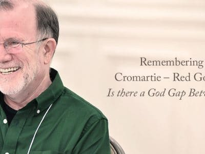 Remembering Michael Cromartie — Red God, Blue God: Is there a God Gap Between the Parties?