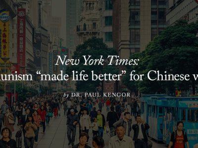 "New York Times: communism ""made life better"" for Chinese women"