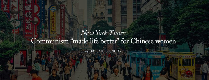 ", New York Times: Communism ""Made Life Better"" for Chinese Women"
