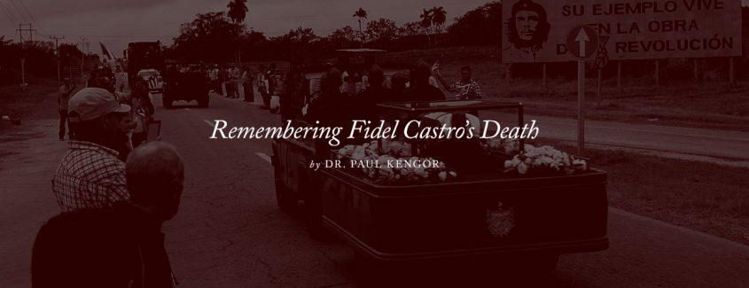 , Remembering Fidel Castro's Death
