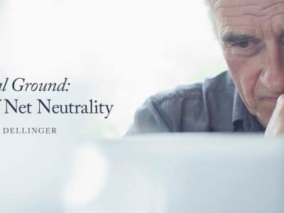 No Neutral Ground: The Problem of Net Neutrality