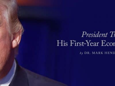 President Trump: His First-Year Economic Record