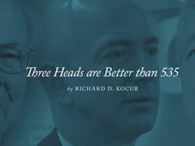 Three Heads are Better than 535