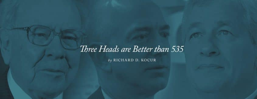 , Three Heads are Better than 535