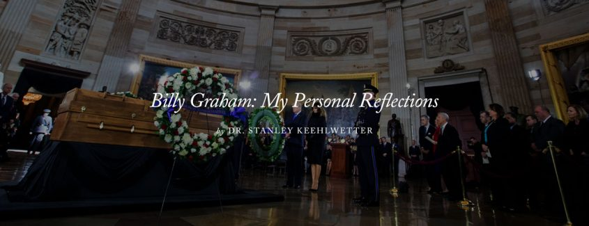 , Billy Graham: My Personal Reflections