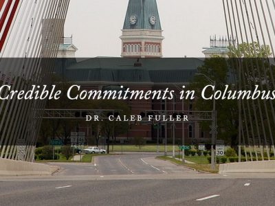 Credible Commitments in Columbus