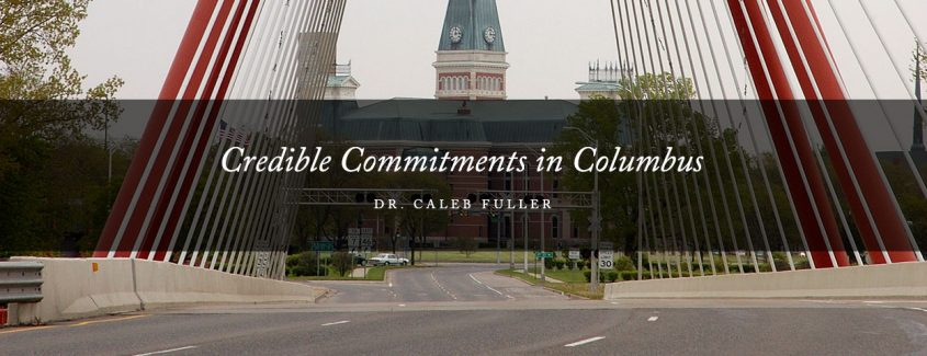 , Credible Commitments in Columbus