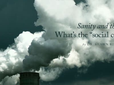 "Sanity and the EPA: What's the ""social cost of carbon?"""
