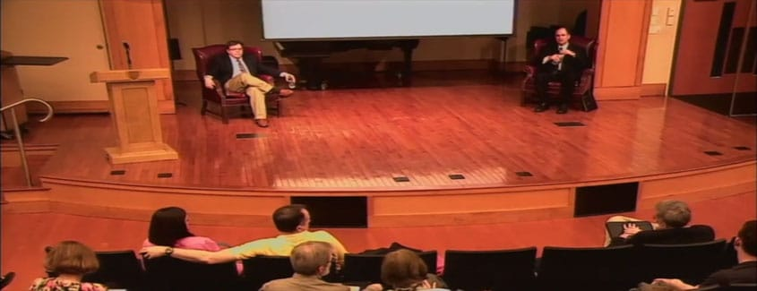 ", 2018 — Annual Conference — Video — ""Changes from the War: America's Educational System and Christian Political Thinking"""