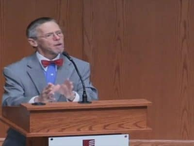 "2018 — Annual Conference — Video — ""World War I's Greatest Casualty: God"""
