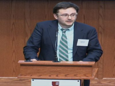 "2018 — Annual Conference — Video — ""The First World War and the Protestant Communities of Germany: Between Christian Faith and the 'Idolatry of Nationalism'"""