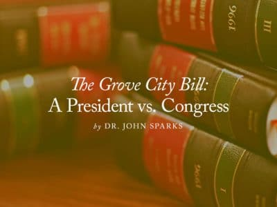 The Grove City Bill: A President vs. Congress