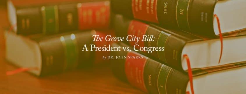 , The Grove City Bill: A President vs. Congress