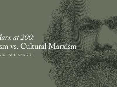 Marx at 200: Classical Marxism vs. Cultural Marxism