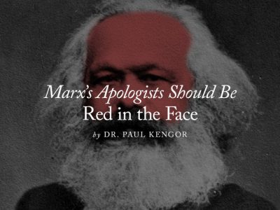 Marx's Apologists Should Be Red in the Face