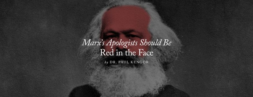 , Marx's Apologists Should Be Red in the Face