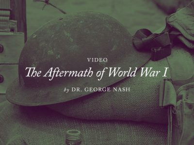 "2018 — Annual Conference — Video — ""The Aftermath of World War I"""
