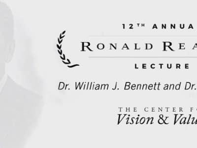 12th Annual Ronald Reagan Lecture - Dr. William Bennett & Dr. Paul Kengor