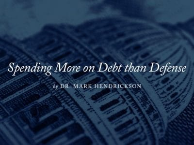 Spending More on Debt than Defense