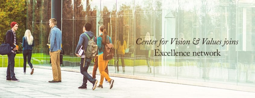 , Center for Vision & Values joins Excellence network