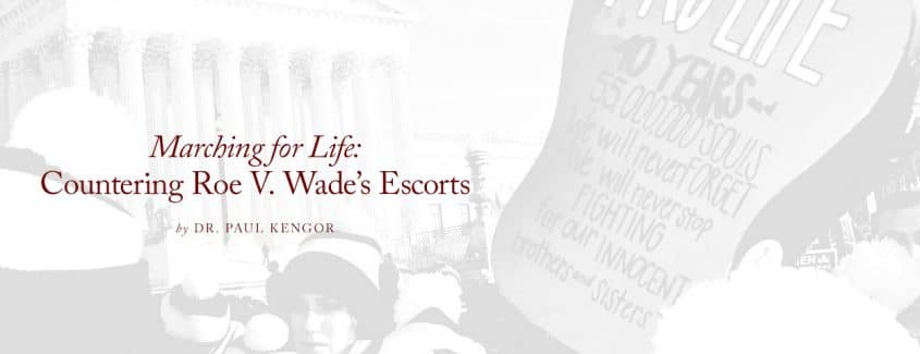 , Marching for Life: Countering Roe V. Wade's Escorts