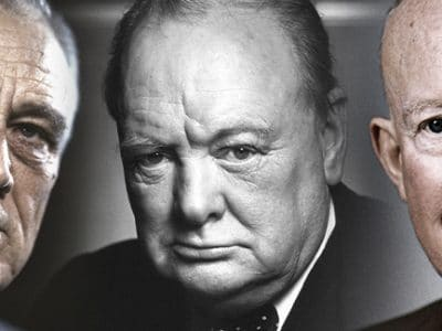 VIDEO - Churchill, FDR, and Ike: Lessons in Leadership and Faith from Partners Who Won World War II
