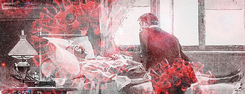 , Eerie Echoes of Influenza Epidemic