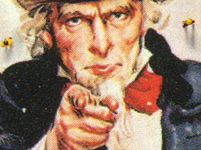 Uncle Sam Plays Market